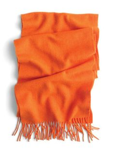 J.Crew cashmere scarf. favorit color, fashion, cashmer scarf, orang scarf, colors, holidays, accessories, scarv, cashmere