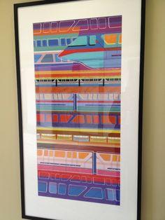 Monorail art