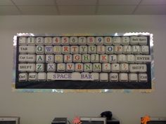My first classroom bulletin board