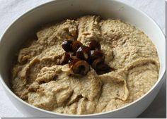 olive hummus recipe
