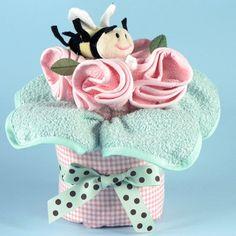 Baby Shower Centerpiece Bouquet Pink