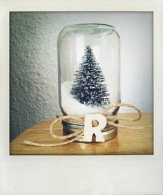 * DIY Christmas snow globe | best stuff