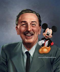 Walt Disney & Mickey