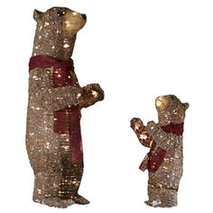 Lighted Bear Outdoor