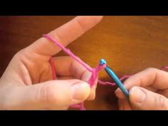 One day I will relearn to crochet. (Learn how to crochet- the basics with video)