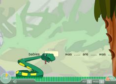 Interactive Education: Verb Viper