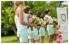 Classic Country Bridesmaids