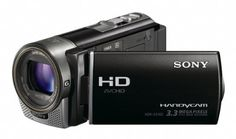 Black Friday 2014 Sony HDR-CX160 High-Definition Handycam Camcorder (Black) from Sony Cyber Monday