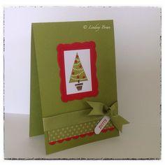 Xmas cards, Stampin up, handmade cards, pennant parade