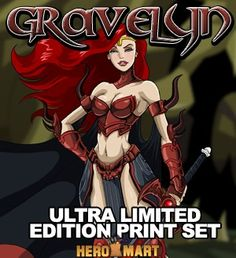 Unarmored Gravelyn Deluxe Print  HeroMart - Your One Stop Shop Online For Hero Things