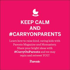 Just share your Pinterest pins and tweets with #CarryOnParents and we will repin. Leave ideas, resources, and links in the comments below and we'll add those to our board as well. Together, we will create a collection of ways to foster Kind & Brave in our homes, schools and communities.  Just share your Pinterest pins and tweets with #CarryOnParents and we will repin. Together, we will create a collection of ways to foster Kind & Brave in our homes, schools and communities.