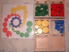 Tons of sensory Montessori activities.