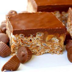 peanut butter rice krispie treats...