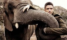 Topher Grace and Elephant cameo :)