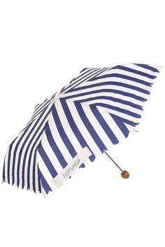 Scallop Edge Stripe Umbrella