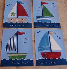 sailboat canvas art