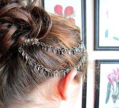 Game of Thrones Silver Leaf Chain Hair by TheSecondMarshmallow chain hair, leaf chain, game of thrones