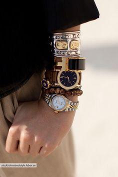layered watches