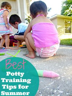 SavingSaidSimply.com - 5 Best Tips Potty Training Tips for Summer
