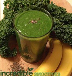 green smoothi, vitamix recip, kale kale, seed green