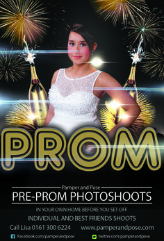 Now booking for pre-prom photoshoots - Pamper and Pose