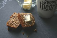 The Nifty Cupcake: Rainy Days and Banana Nut Bread (healthy version included)