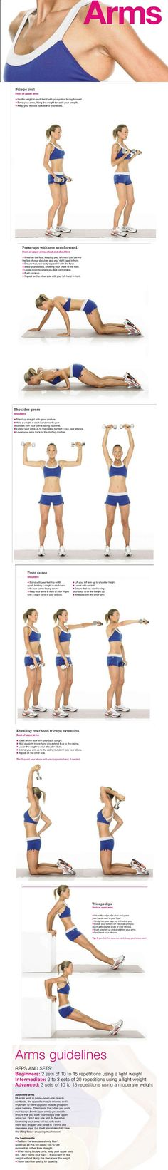 Best arms exercises