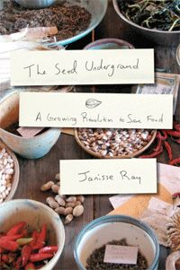 """Ray outlines the basics of seed saving in The Seed Underground, but it is not a how-to book. It's a call to action, which often reads like a lyrical love letter to the land and to varieties of squash and peas most of us have never tasted. """"A seed makes itself. A seed doesn't need a geneticist or hybridist or publicist. But it needs help, sometimes it needs a moth or a wasp or a gust of wind. Sometimes it needs a farm and it needs a farmer. It needs a garden and a gardener. It needs you."""" seed, garden, canningpreserv food"""