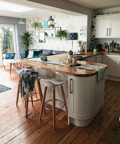 21 White And Wood Kitchen for Charming Way to Change New Order