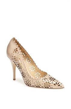 Pretty perforated pump.