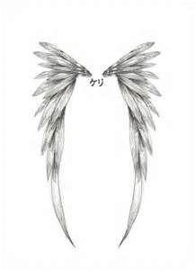 Tattoo Small Angel Wing Designs