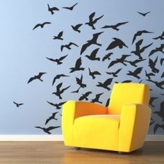 A great and easy way to change the look and feel of  a room in no time. Check out these fun wall decals.
