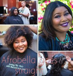 Afrobella's hair straighten. #officiallynatural #curlyhairrocks.