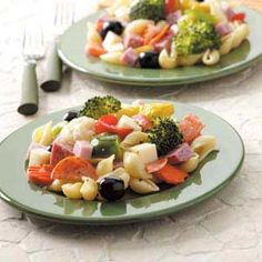 Antipasto Picnic Salad Recipe from Taste of Home
