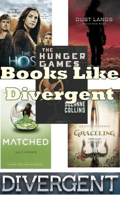 More good books to read like Divergent! i have read all of these but dust lands and i can say, they are AMAZING!!!