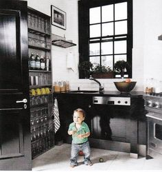 La Dolce Vita: Going to the Dark Side: Kitchens