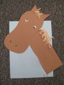 H for horse