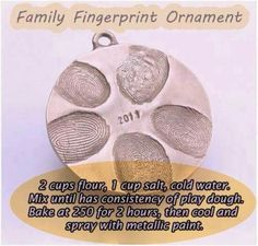 Thumbprint ornament. Would be nice to do this with my students, and one for my family.