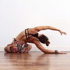 seated chandrasana #yoga