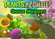 Plants Vs Zombies Quick Memory | Juegos Plants vs Zombies - jugar gratis