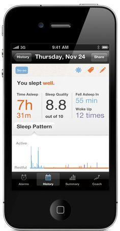 Personal sleep coaching