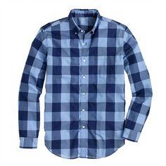 J.Crew - Lightweight shirt in oversize gingham