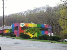Crayola factory in Bushkill, PA 1 Hour from bushkill.  Day trip