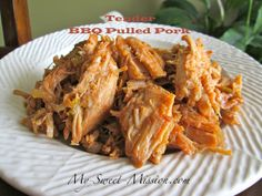 Savory BBQ Pulled Pork by MySweetMission.net: http://www.my-sweet-mission.com/2013/04/tender-bbq-pulled-pork.html #BBQ #Porkrecipes