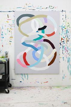 Painting by Kirra Jamison