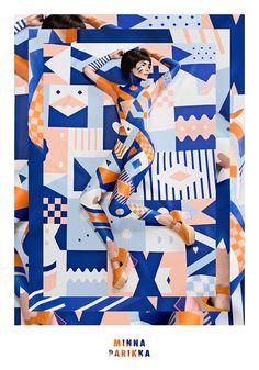 Minna Parikka's S/S 14 shoe collection ILLUSTRATOR Janine Rewell, Helsinki, Finland