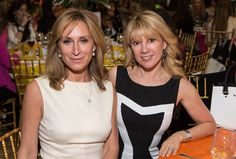 Real Housewives of New York Sonja Morgan and Romana Singer attend the 59th Annual Spirit of Achievement Award Luncheon.