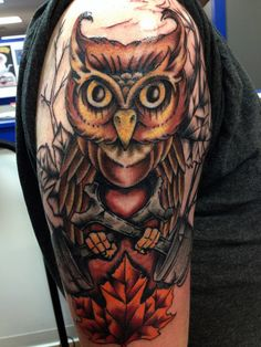 Tattoo done by JayWoo in Flint, MI @ Custom Ink @ Steel.