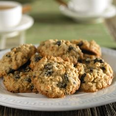 My favorite cookies are oatmeal raisin and this recipe replaces the sugar with a sugar substitute.  They are moist and so delicious that people actually request these every time we say we are making cookies.  These get as many requests as our chocolate chip cookies made with 70% cocoa chocolate! Now that's really saying something!