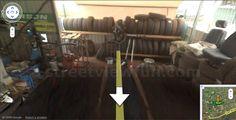 streetview car, car chang, chang tyre